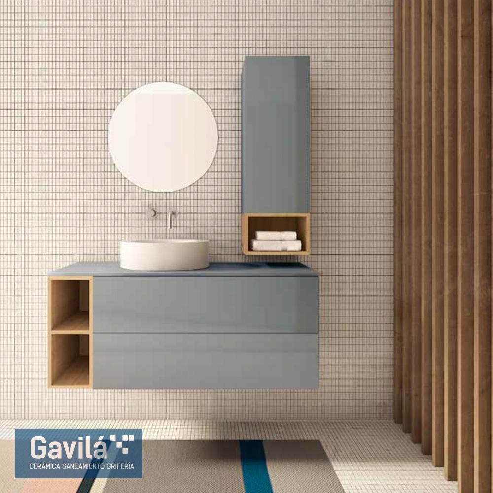 Mueble Cube Azul