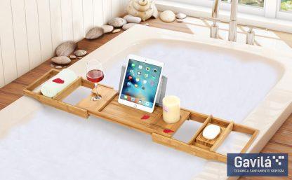Ejemplo de baño relajante