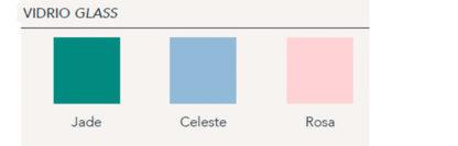 Colores de vidrio a elegir