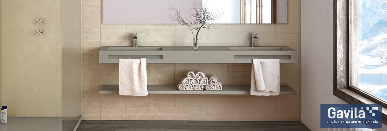 Acquabella lavabo doble 1300